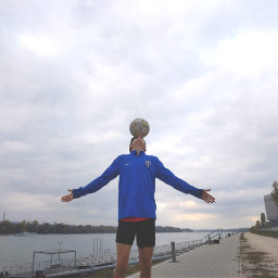 freestyle god headstand ball magic