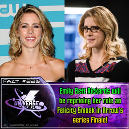 arrow arrowcw arrowseason8 felicitysmoak emilybettrickards dccomics