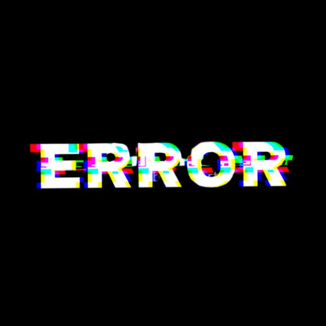#error