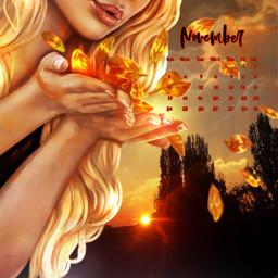 freetoedit november calendar fantasyart fantasyedit srcnovembercalendar