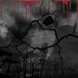 freetoedit halloween teufel engel blut