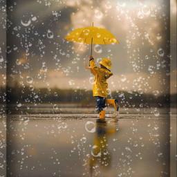rainy raincoat puddle wet freetoedit ecrainyseason