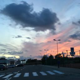 sunsetsky sunsetphotography sunset pcbluehour bluehour