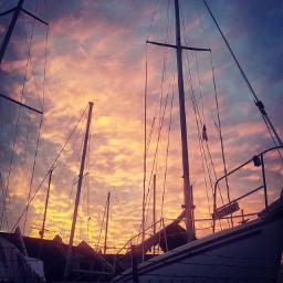 freetoedit sunset boats nautical photography