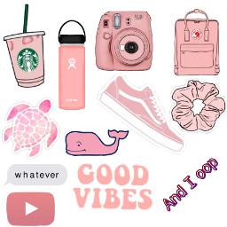 vsco vscogirl pink vscopink pinkvsco scrunchie freetoedit