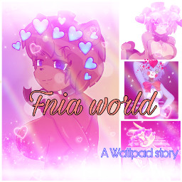 wattpadcoverart fnia story anime freetoedit