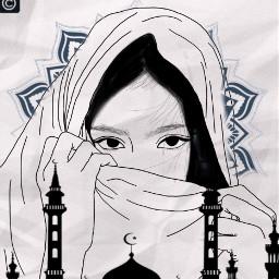 muslimgirl islamicart freetoedit