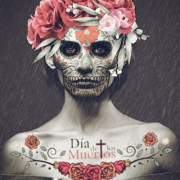 skullseverywhere diadelosmuertos artisticportrait cutouttool mask