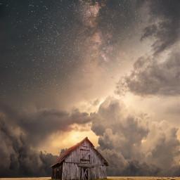 freetoedit background clouds cloud sky star stars smoke fog galaxy nature remix star stars night house