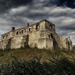 castle siewierz dramaeffect mystery poland