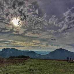 mountains nature lifestyle sun sky freetoedit