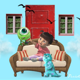 freetoedit couch monstersinc boo monsters