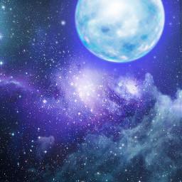 freetoedit background sky space stars