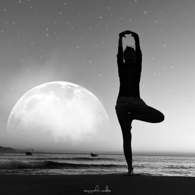 #freetoedit #myedit #surreal #picsart #madewithpicsart #manipulation #photography #stars #moon #smoke #birds #shadow #blackandwhite #silouette
