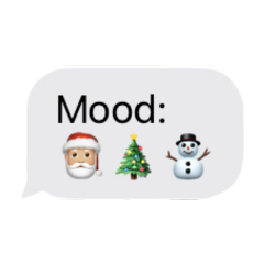 christmas stickers snowman mood message freetoedit