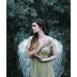 freetoedit angel woman frame beautiful