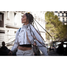 streetsnap pfw fashion models indirascott