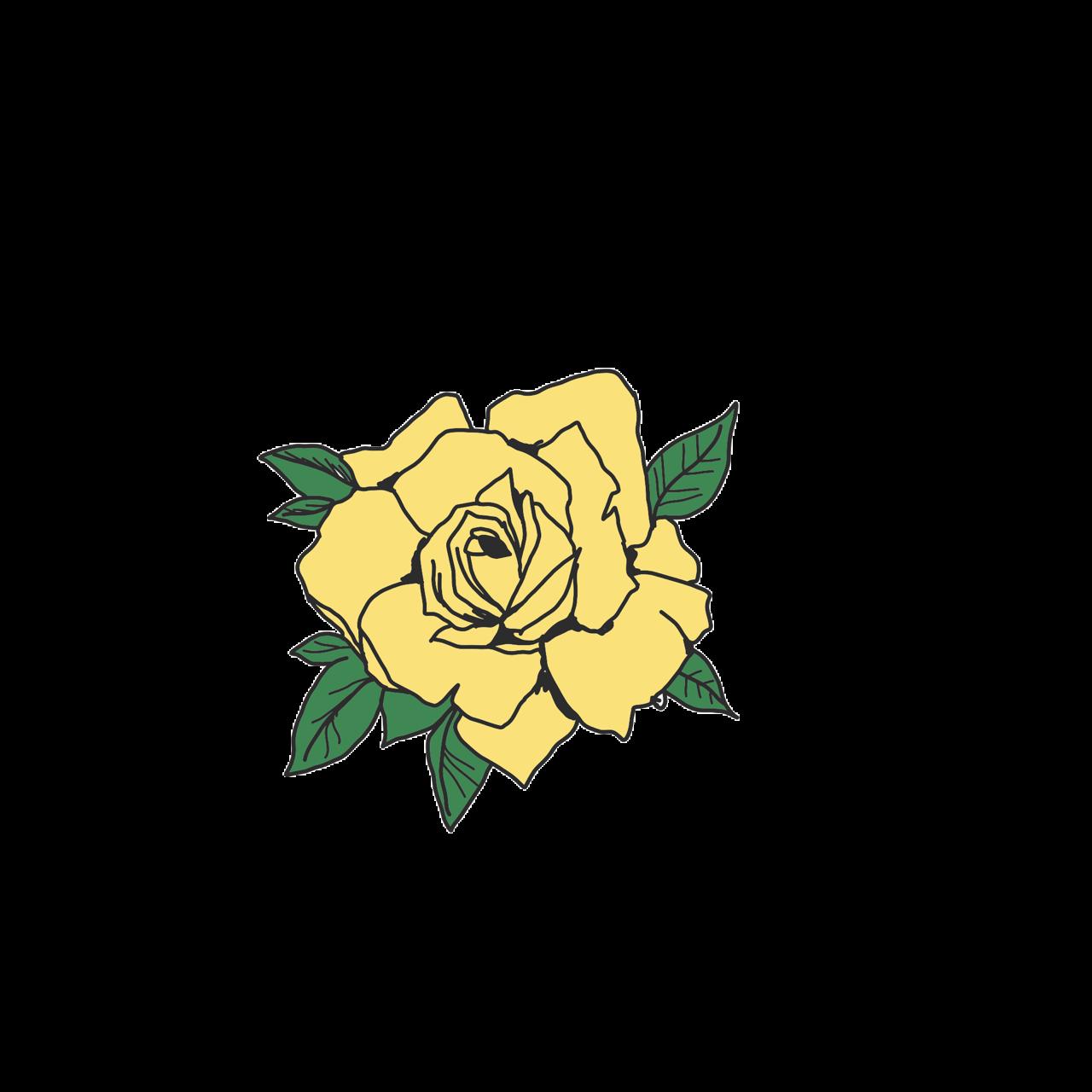 yellow yellowaesthetic aesthetic tumblr rose rosa...