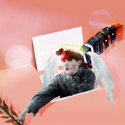 freetoedit angle angel halo kpopart ircpeachquartz peachquartz