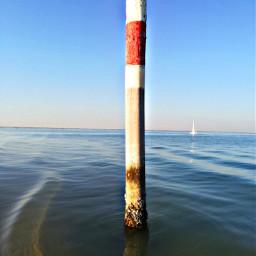 sea water mast bluesky boat freetoedit