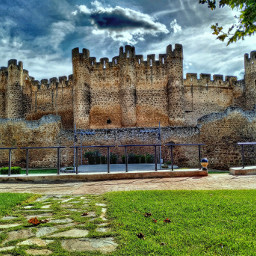 hdr castle medieval travel landscape freetoedit