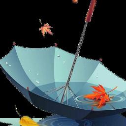 umbrella autum leaf freetoedit scumbrella