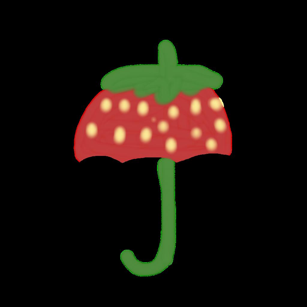 Strawberry umbrella 🍓☔ . . #umbrella #scumbrella #strawberry  . . #picsartchallenge #picsart  . . @picsart @freetoedit