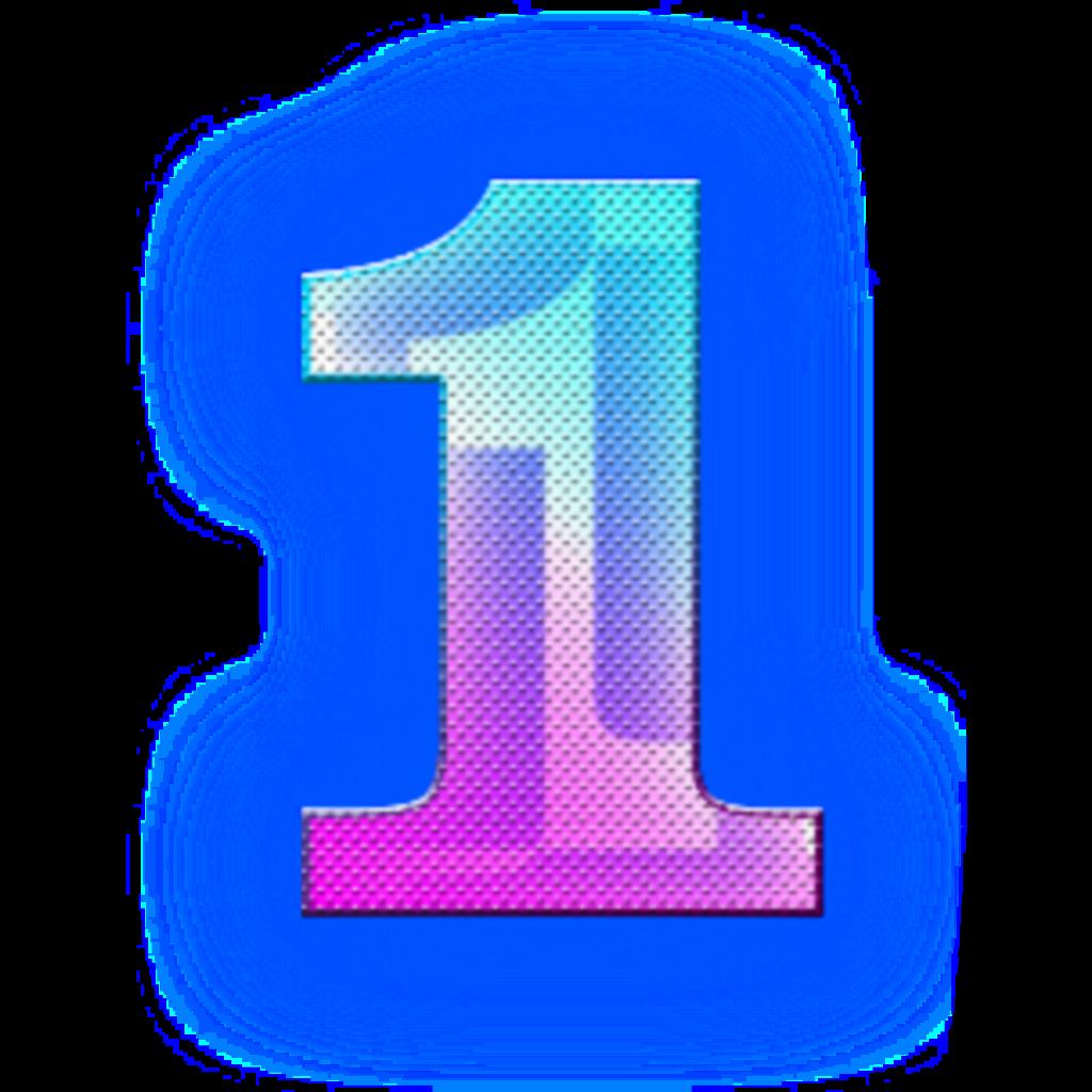 #number #number1 #neon #neonnumber #neoneffect