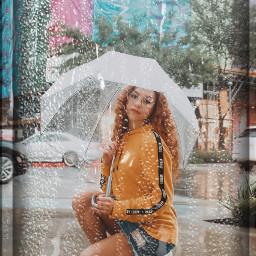 rainy umbrella wet editedbyme freetoedit ecrainyseason