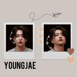got7 youngjae brown kpop freetoedit