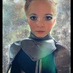 freetoedit myedit halloween warriorwoman