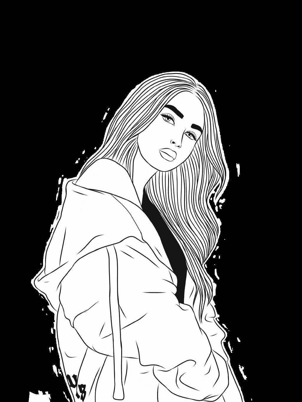 #chica #blancoynegro