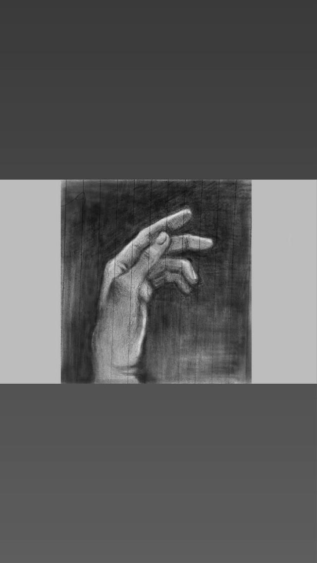 #freetoedit @pa #pa #mydrawing  #hand #myhand  #B&W #digitalart