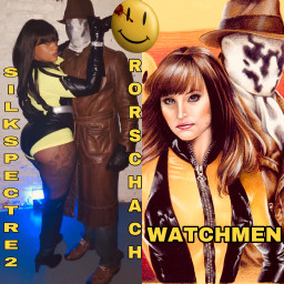 costumeparty 2019 rorschach silkspectre2 watchmen freetoedit