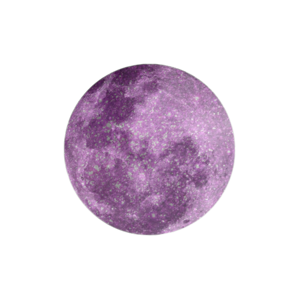 #glitter #moon #purple