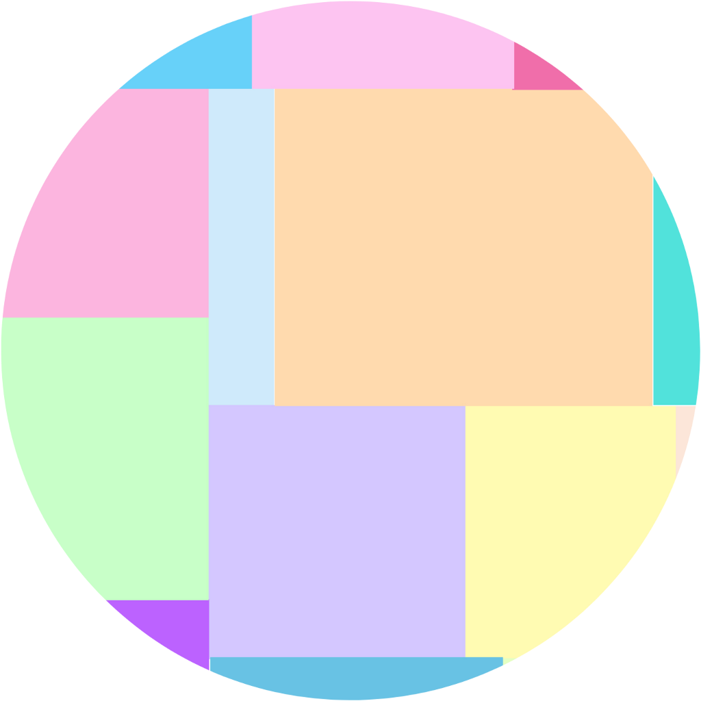 #freetoedit #rainbow #pastel #colorful #circle