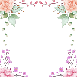 wreath rose square geometric glitter freetoedit