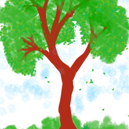freetoedit tree drawing nautre dcalonelytree