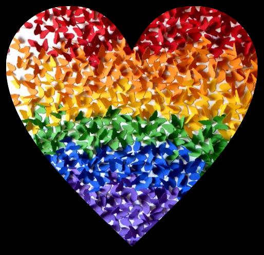 #loveislove #butterflies #pride #freetoedit
