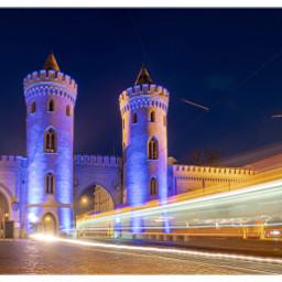 potsdam illuminated lichtspektakel lighttrails nightphotography freetoedit