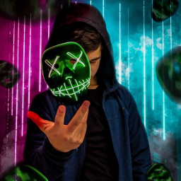 manipulation tumblr neon mask neonmask