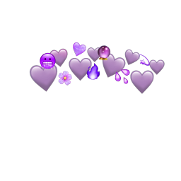 purple emoji crown ftestickers freetoedit