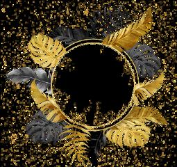 round wreath frame feathers geometric ftesticker freetoedit