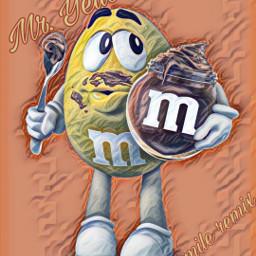 freetoedit @asweetsmile1 chocolate mms candy