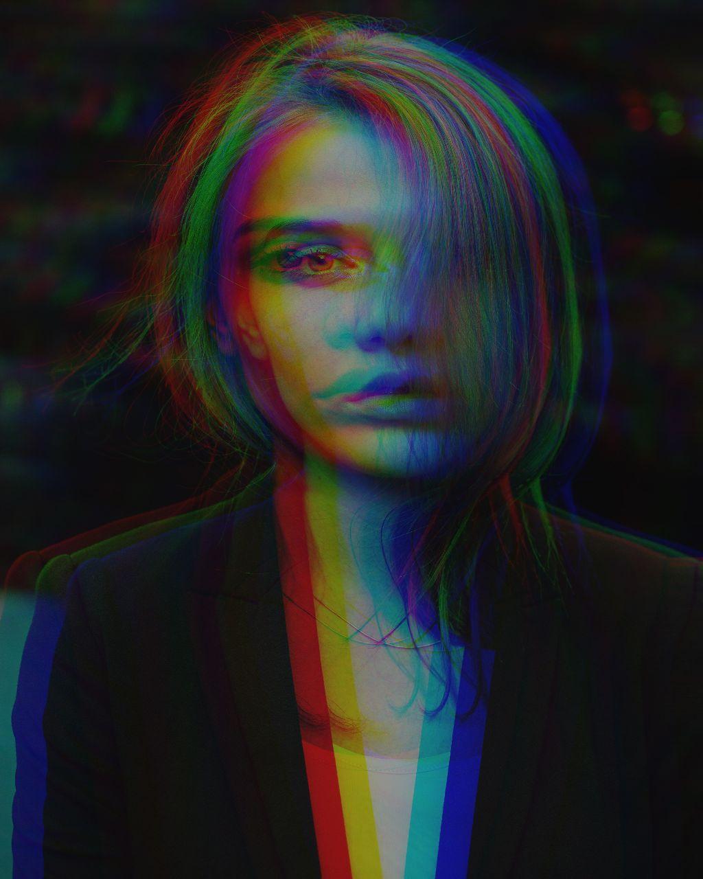 #freetoedit #glitch #glitcheffect #girl #portrait #madewithpicsart #replay #remixit