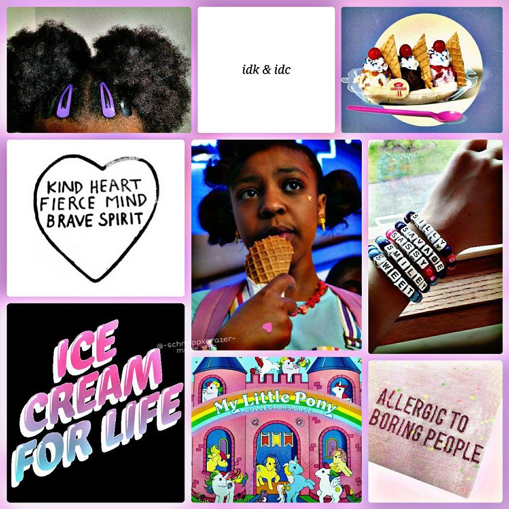 Erica Sinclair moodboard  #strangerthings #ericasinclair #priahferguson #moodboard #aesthetic