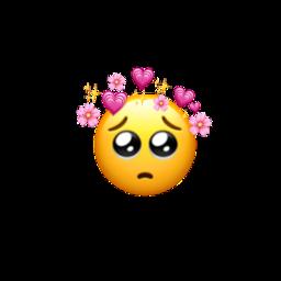 hearts iphone iphoneemoji 🥺💓 freetoedit