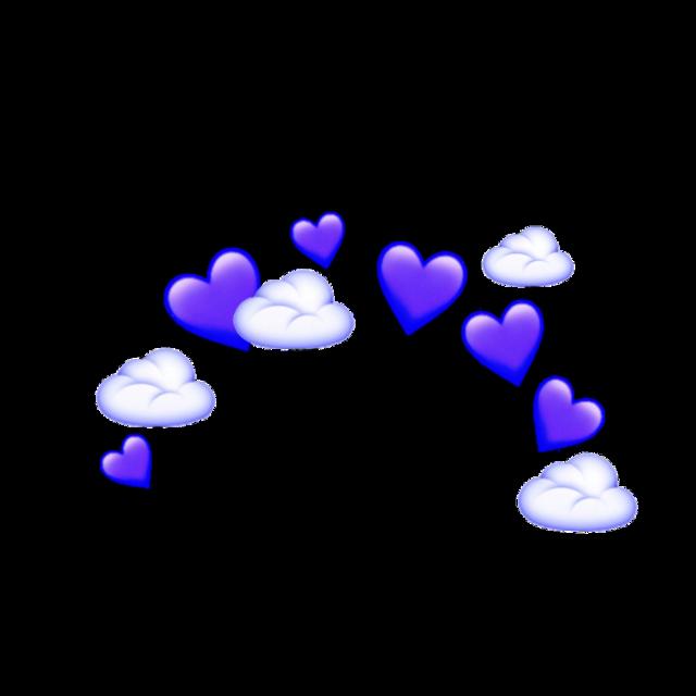 #purple #emoji #crown #heart #cloud #ftestickers #freetoedit #remixit