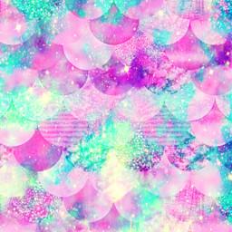 freetoedit glitter sparkle galaxy mermaid scales