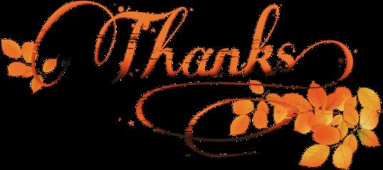 thanks thanksgiving november leaves madewithpicsart freetoedit scthanks